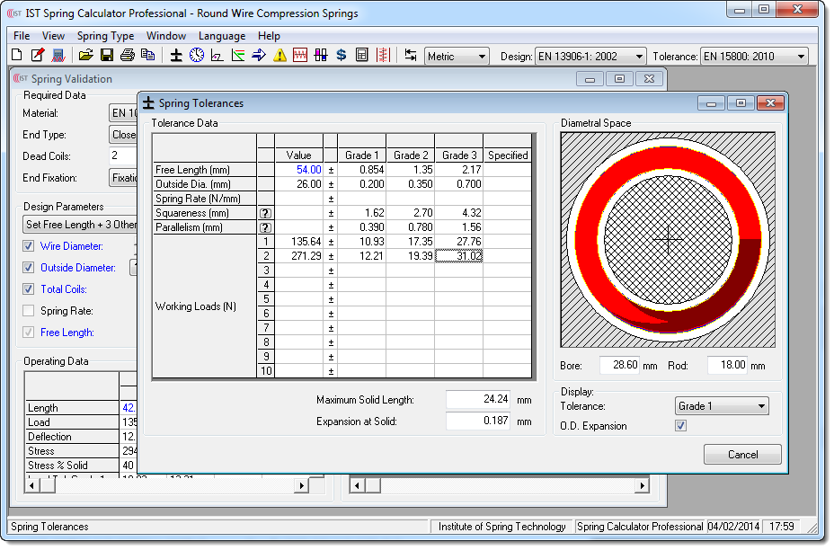 Spring Calculator From Ist Institute Of Spring Technology